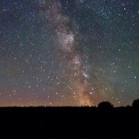 SWALLOW BARN SKY AT NIGHT