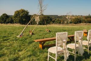 Becky Weir Photography- Bespoke Barn Weddings ceremony area