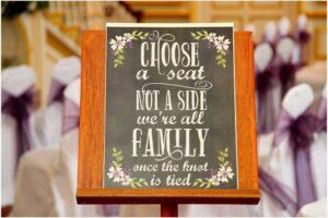 Bespoke Barn Weddings Decor and invitation design