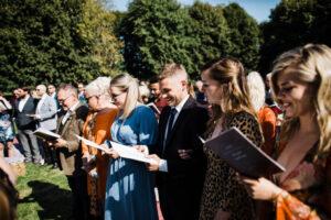 TTWWR Bespoke Barn Weddings hymns