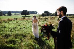 TTWWR Bespoke Barn Weddings Field wedding