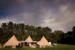 Bespoke Barn Weddings Elite tents
