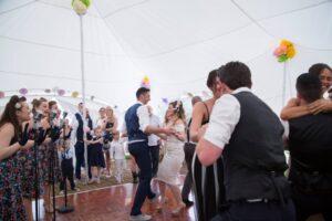 Bespoke Barn Weddings dance NIkki n James