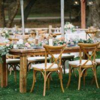 Bent oak chairs